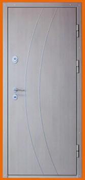 металлические двери двустворчатые в тамбур